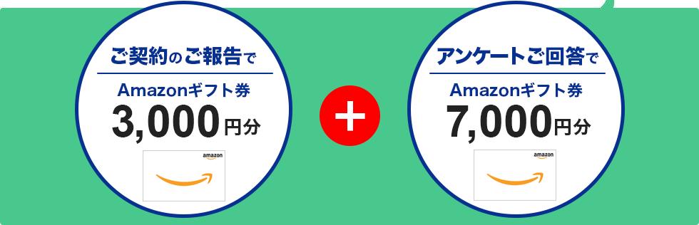 Amazonギフト券10,000円分をプレゼント!