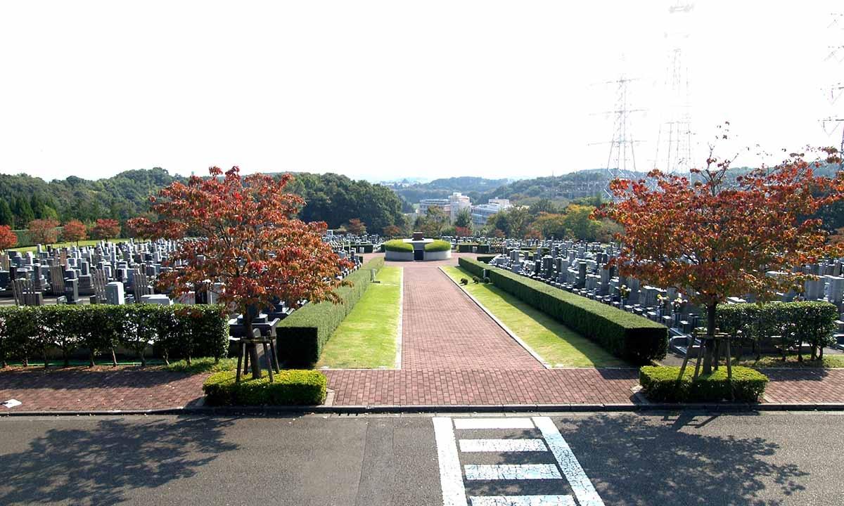 東京多摩霊園の写真