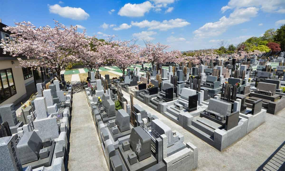 建功寺菊名墓地
