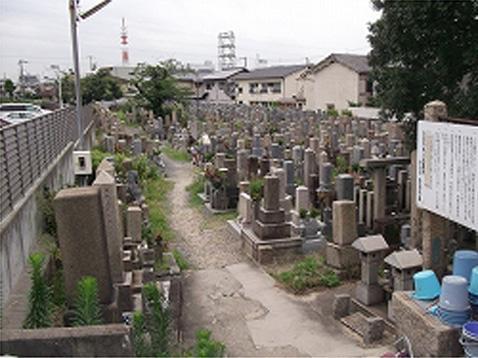 吹田市営 川面墓地