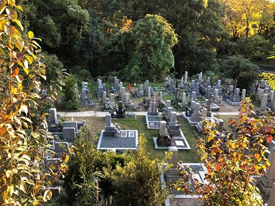 京都市営 清水山墓地の画像1