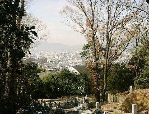 京都市営 住吉山墓地の画像1