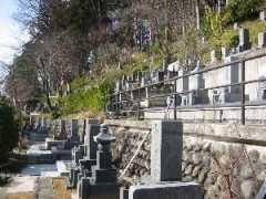 高山市営 城山墓地
