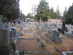 高山市営 大隆寺墓地