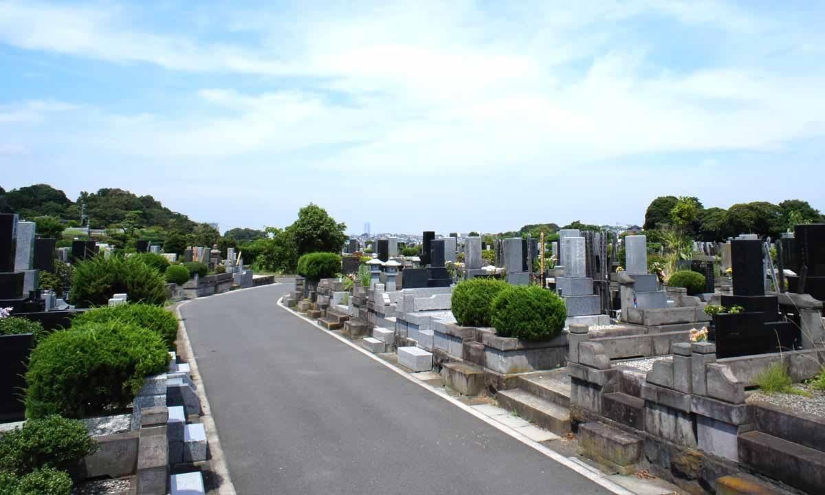 横浜市営 日野公園墓地の画像2