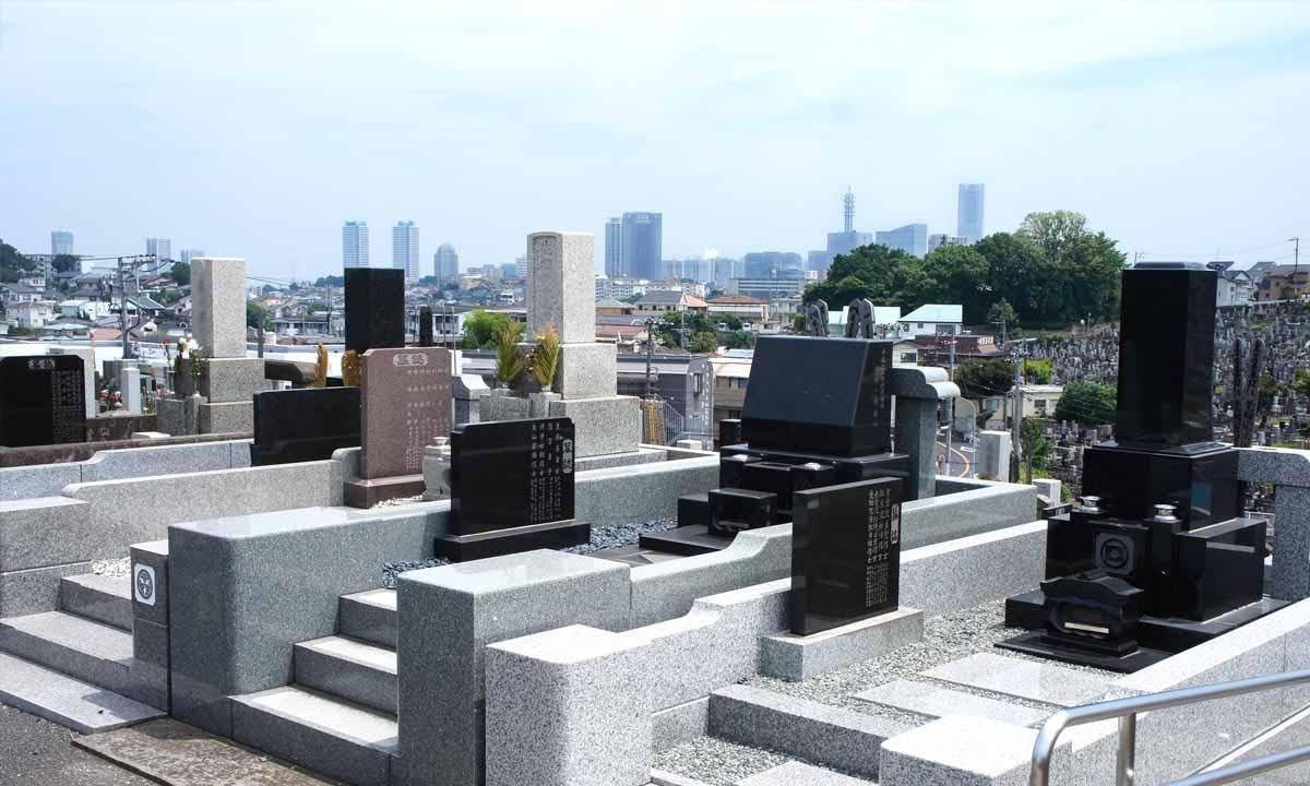 横浜市営 三ツ沢墓地の画像2