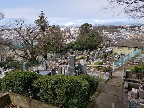 藤沢市営 西富墓地の画像