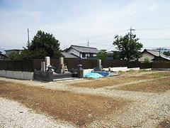 真光寺境内墓地