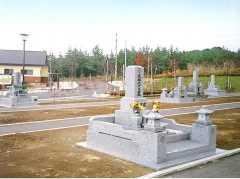 鯵沢町営 鰺ケ沢町墓地公園