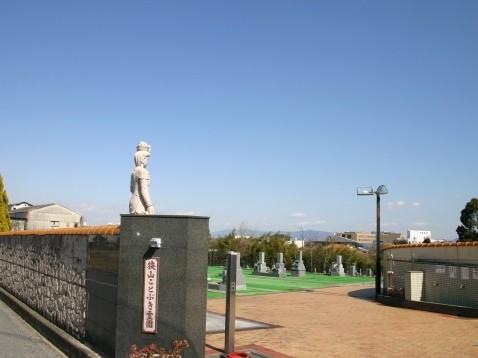 狭山ことぶき霊園|高台に位置していますので、景色が一望できます。