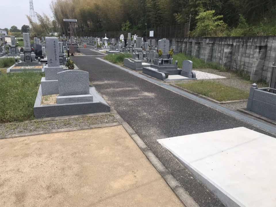 山直中町営 岸和田山直墓地の画像1