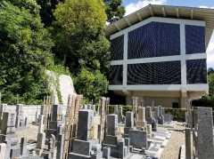 宝善院墓地の画像