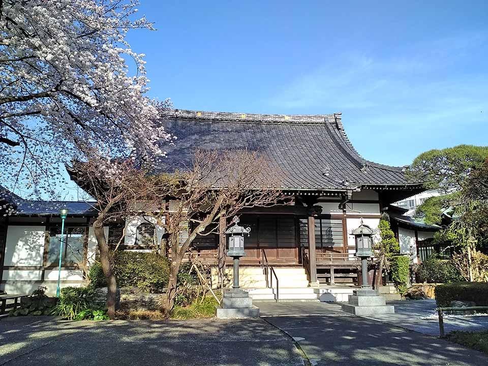 世田谷 無量寺墓苑(東京都世田...