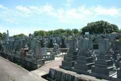 平和公園 龍雲寺墓地