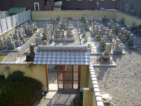 西京極墓苑の画像3