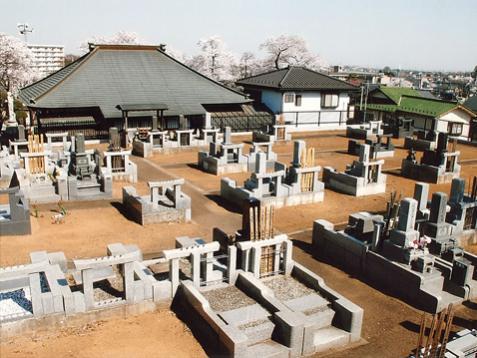 成田山明観寺「ほたるの里霊苑」