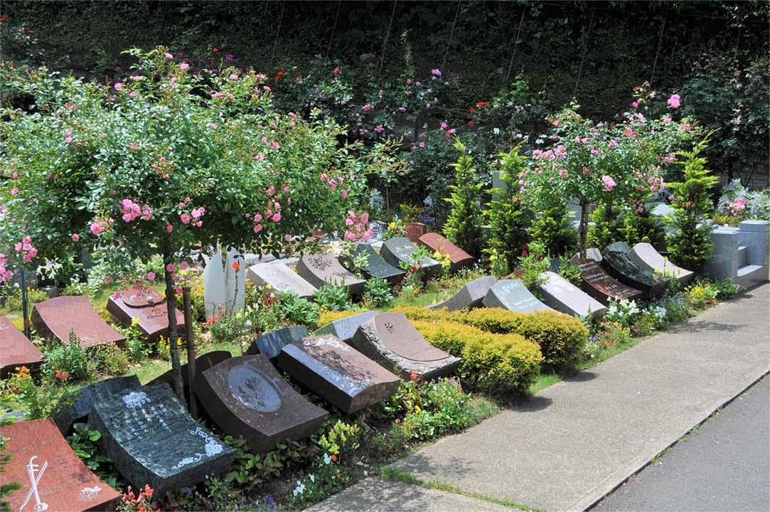 鎌倉やすらぎの杜 「ふれあいの碑」