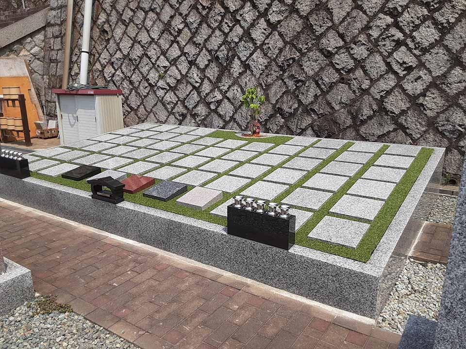 雷声寺 樹木葬2