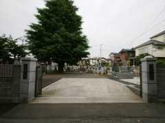 長覚院 堂山墓地