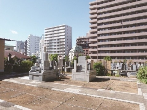 願海寺墓地