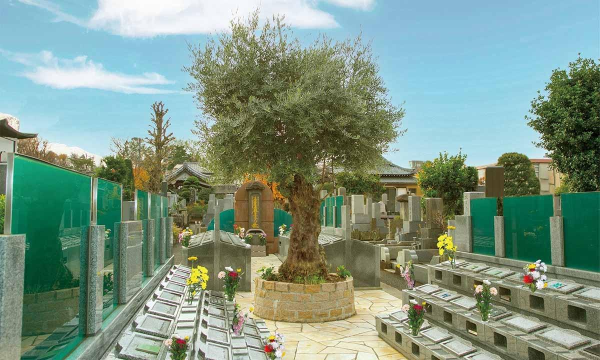 杉並堀ノ内樹木葬 桜の庭園の画像1