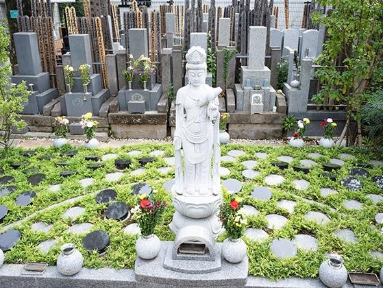 四谷三丁目樹木葬墓地の画像1