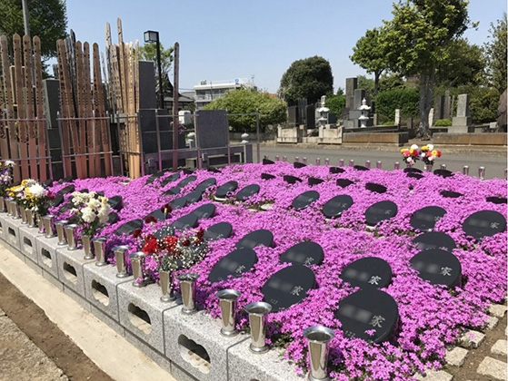 【谷中ガーデン墓地】花壇墓園|花壇墓園
