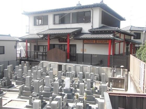 万福寺 屋外納骨堂・樹木葬墓地・一般墓1