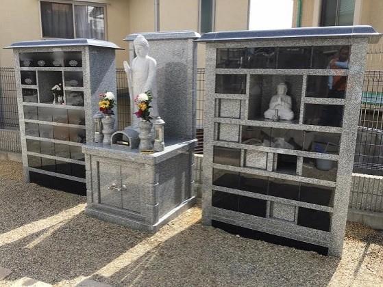 万福寺 屋外納骨堂・樹木葬墓地・一般墓2