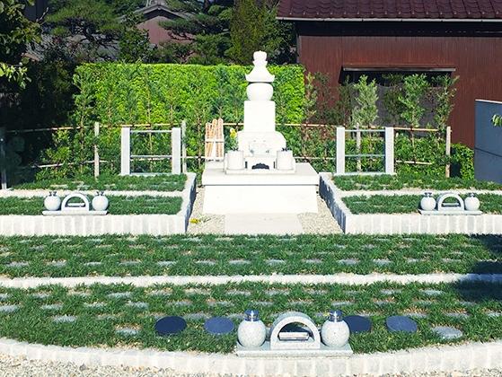刈谷樹木葬墓地1