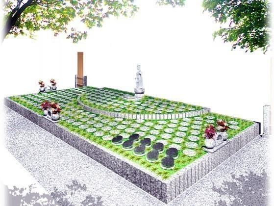 蒲郡とぼね樹木葬墓地1