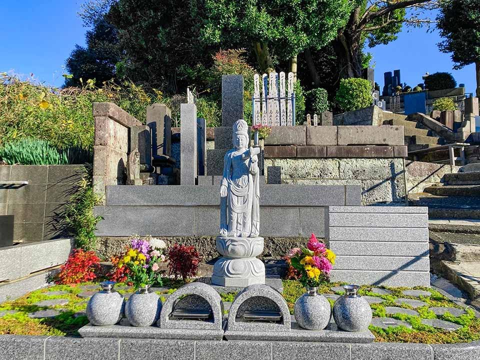 富岡さくら樹木葬墓地|樹木葬墓地 見晴らし区画側