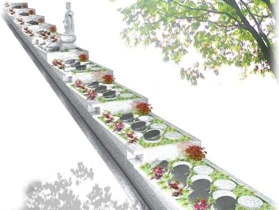 八事林泉寺樹木庭園墓地1