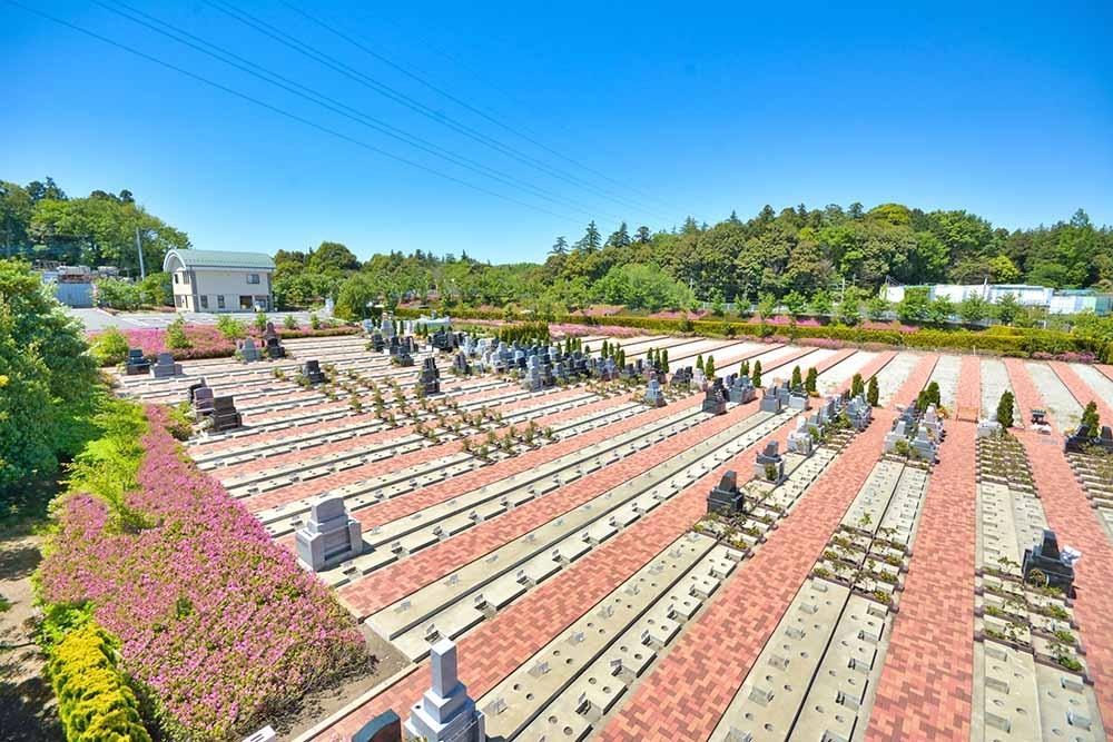 合掌の杜 横浜下川井霊園|開放的な園内