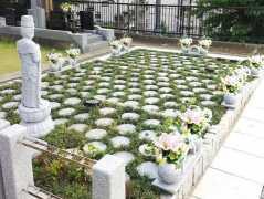 府中樹木葬墓地の画像