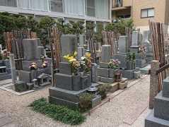 長久寺墓地の画像