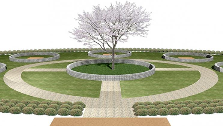 樹木葬霊園 憩い