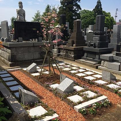上越の樹木葬墓苑 はなみずき