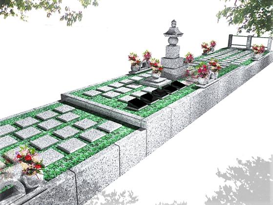 豊橋駅前樹木葬墓地1
