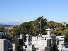長徳寺風の丘の墓地