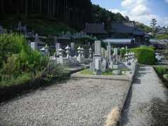 向本寺墓地