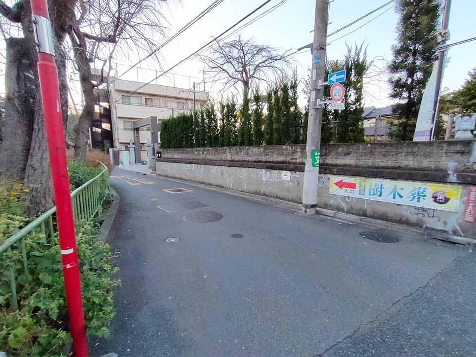 杉並 下高井戸駅近樹木葬「蛍」の写真