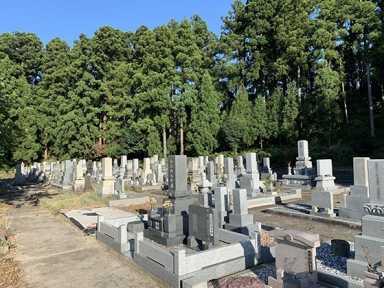 日野川西部墓地