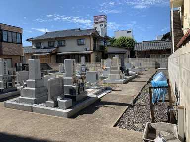 清光寺墓地