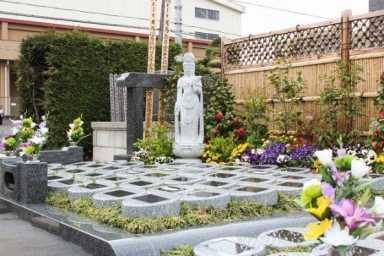 観音聖園 那須烏山市 樹木葬墓地
