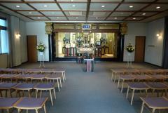 礼拝堂の室内