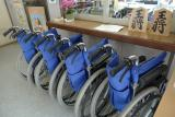 貸し出し用の車椅子