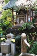 瑞光寺境内は、東京の真ん中であることを忘れてしまいそうな静かで神聖な場所
