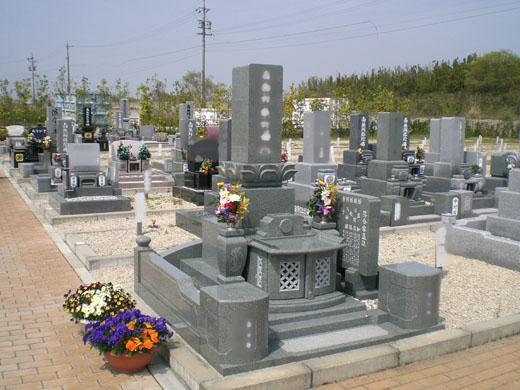 墓所の風景