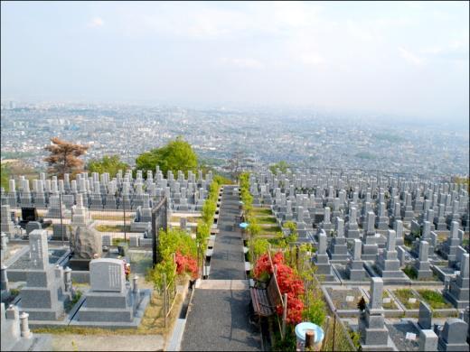 北摂地域や大阪市内を見渡せるすばらしい眺望